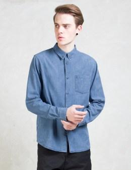 A.P.C. Indigo Chemise Serges Denim Shirt Picture
