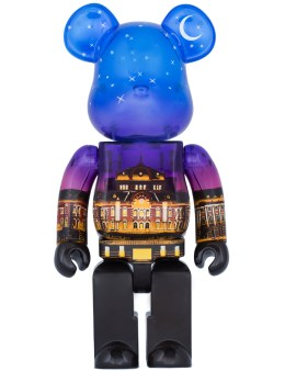 Medicom Medicom Toy 400% Bearbrick Toyko Station Night Version Picture