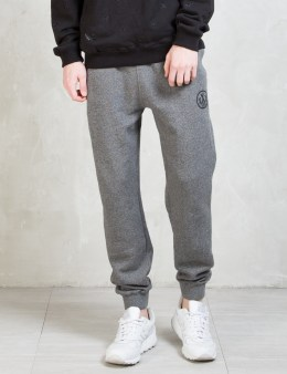 10.DEEP Black Marl Sign Seal Sweatpants Picture