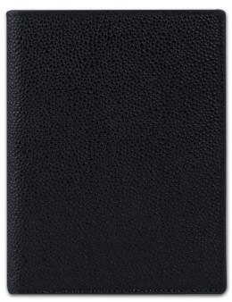 THOM BROWNE Pebble Grain Leather Passport Holder Picture