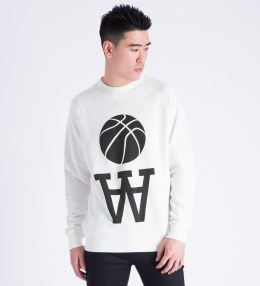 Wood Wood White Team AA Hester Sweater Picture