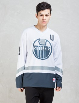 UNDEFEATED Spoilers Hockey L/SL Jersey T-Shirt Picture