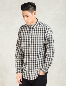 Shades of Grey by Micah Cohen Black Standare Button Down Shirt Picture