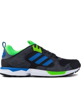adidas Originals Carbon/Bluebird/Solar Green ZX 5000 RSPN Shoes Picture