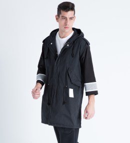 PHENOMENON Black Hockey M-51 Coat Picture