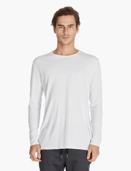 ZANEROBE White Flintlock L/s T-shirt Picture