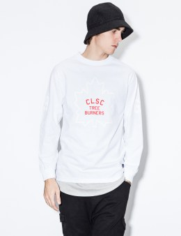 CLSC White Leafs L/S T-Shirt Picture