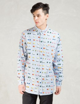 LAZY OAF Blue Medicated Long Sleeve Shirt Picture