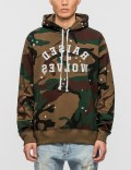 Raised By Wolves Mirror Hoodie Picture