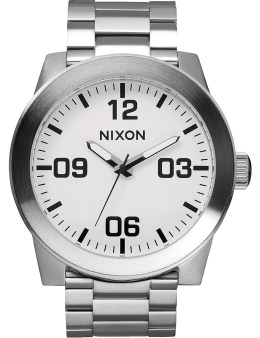 Nixon White Corporal SS Watch Picture