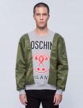 MOSCHINO Multi Fabric Patch Sweatshirt Picture