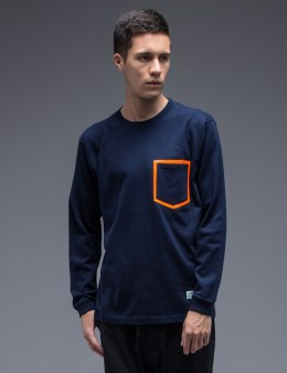 SILAS Neon Pocket L/S T-Shirt Picture