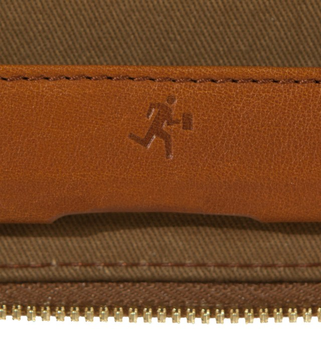 WANT Les Essentiels de la Vie Narita Cognac iPad Zip Case