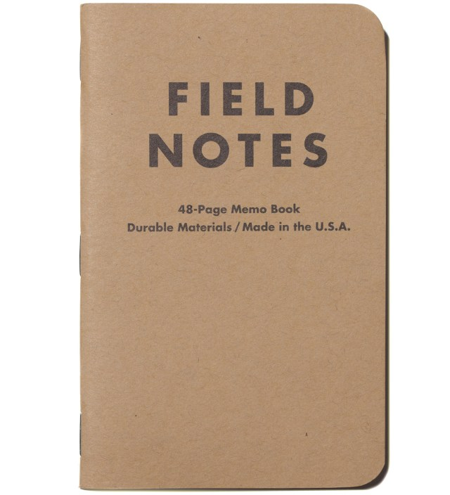 Field Notes Original 3-Pack Pocket Plain Paper