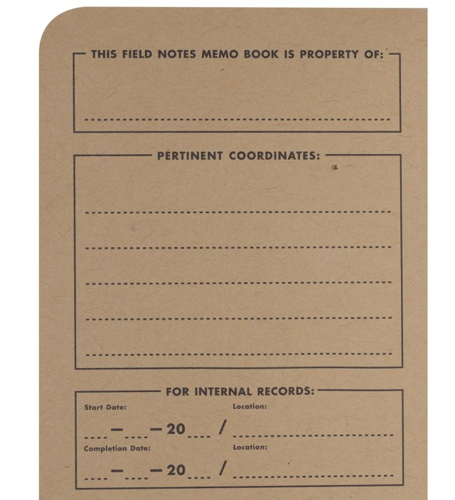 Field Notes Original 3-Pack Pocket Graph Paper