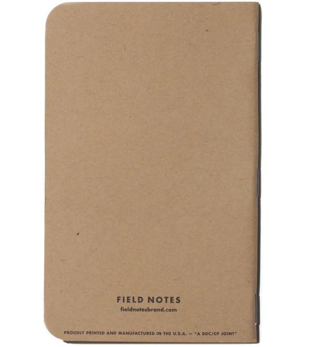 Field Notes Original 3-Pack Pocket Plain Paper