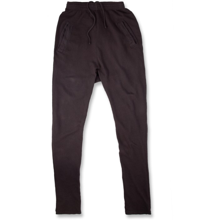 SILENT DAMIR DOMA Brown Ashes Pujo Heavy Jersey Pants