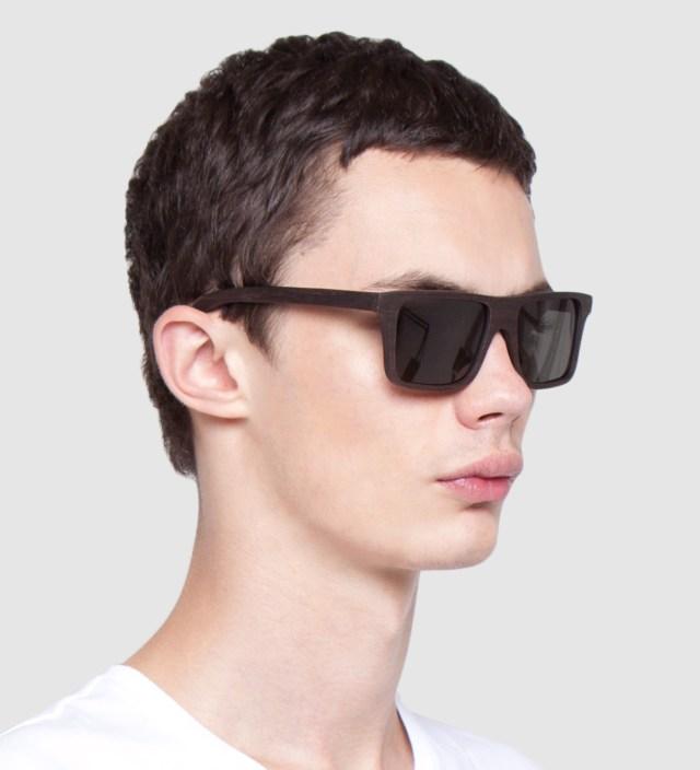 Shwood Govy East Indian Rosewood Polarized Grey Sunglasses