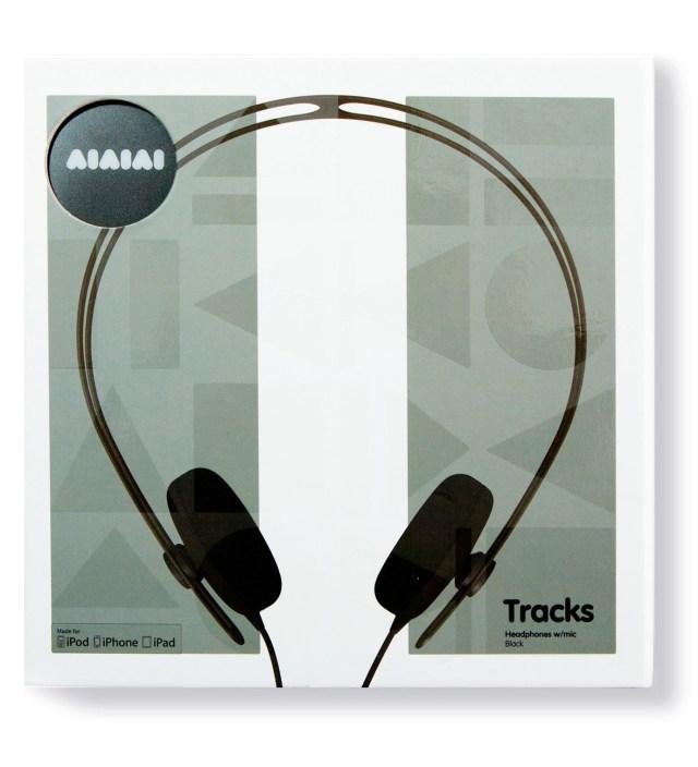 AIAIAI Black Tracks Headphones