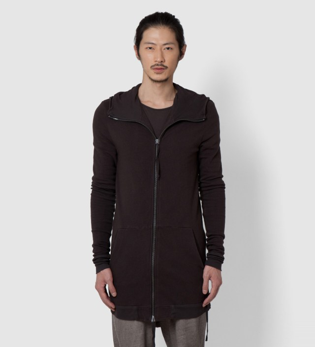SILENT DAMIR DOMA Brown Ashes Torob Zip Up