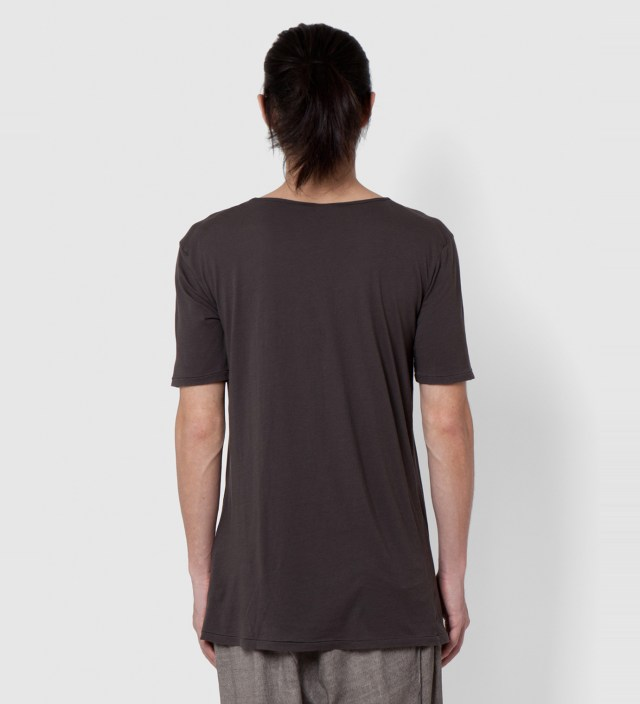 SILENT DAMIR DOMA Brown Ashes Tonco Basic T-Shirt
