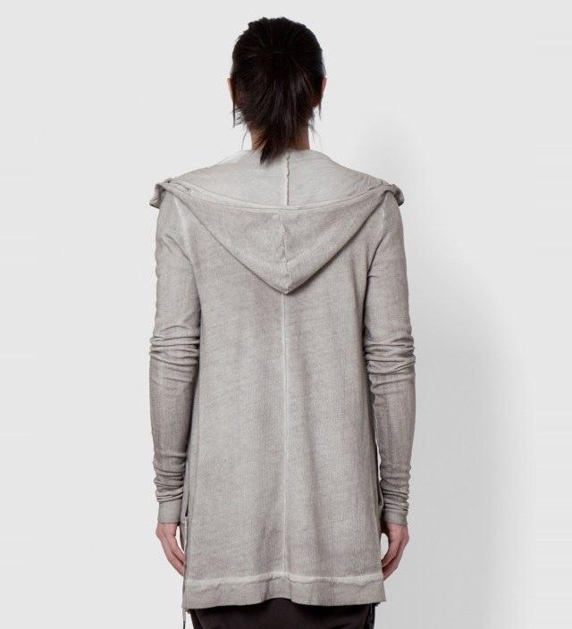 SILENT DAMIR DOMA Grey Washed Silent Torob Zip Up