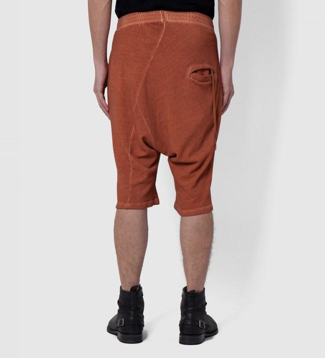 SILENT DAMIR DOMA Camel Saffron Wash Porss Heavy Jersey Shorts