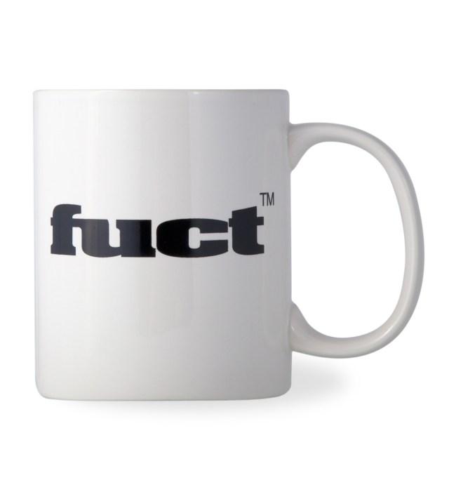 FUCT White OG Logo Mug