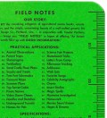 Field Notes Neon Summer Camp 3-Pack Pocket Graph Paper