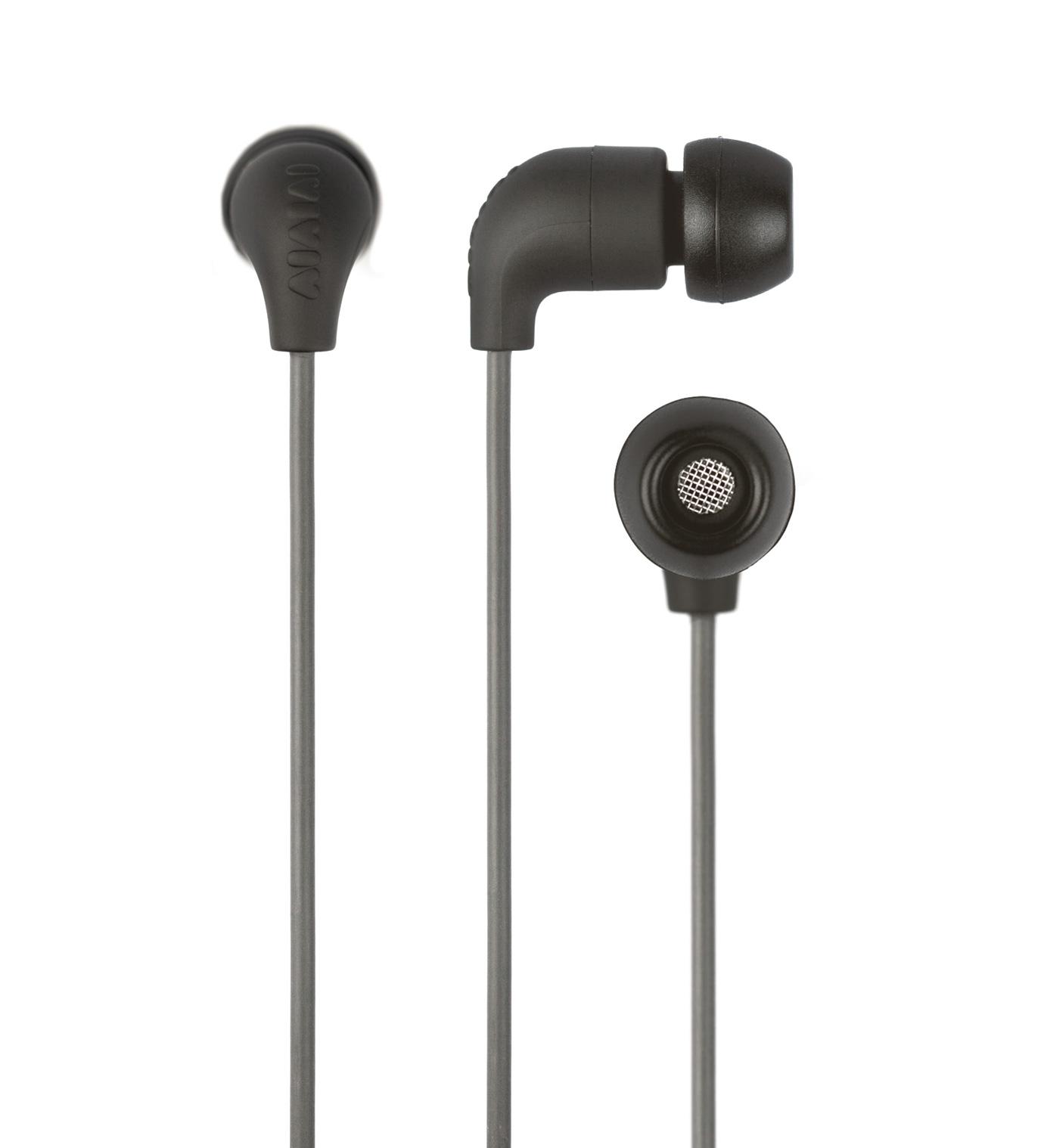 AIAIAI Grey Pipe Earphones