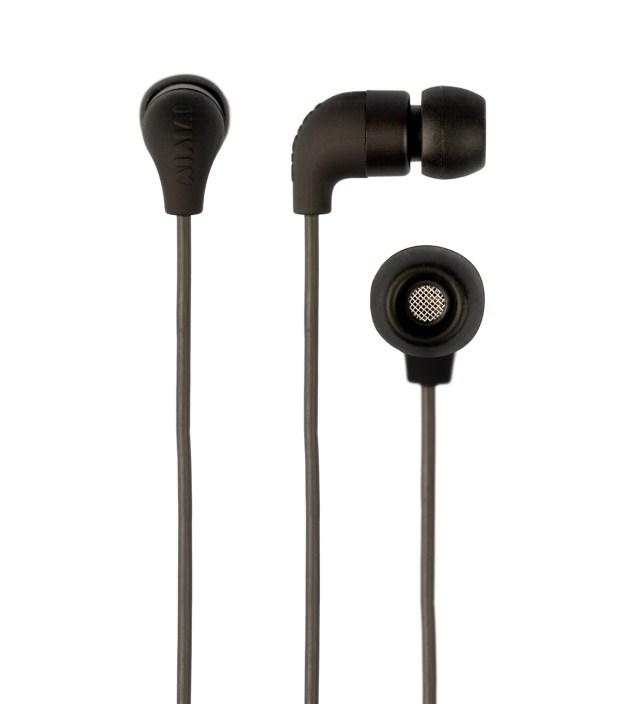 AIAIAI Black Pipe Earphones