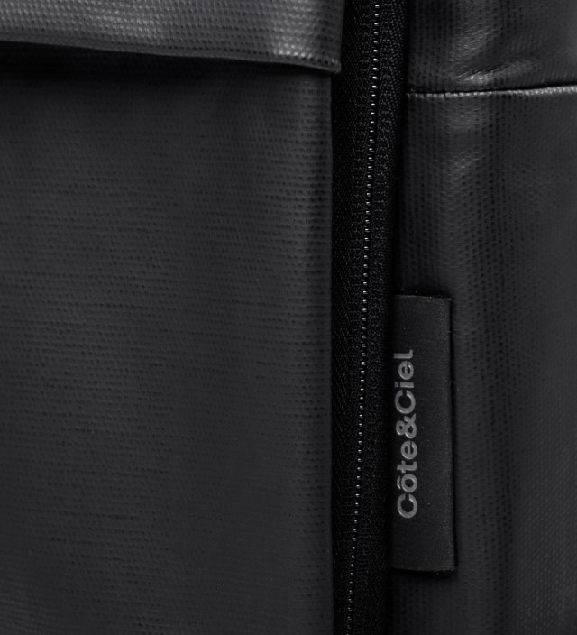 "Côte&Ciel Coated Techno Canvas 15"" Laptop Flat Backpack"