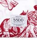 FUCT SSDD White/Red FUCT SSDD Toreros Print Pillow