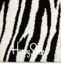 Happy Socks White/Black Zebra Socks