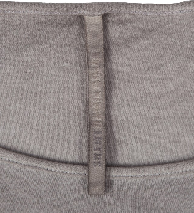 SILENT DAMIR DOMA Grey Washed Silent Tonco Basic T-Shirt