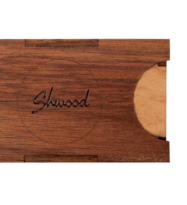 Shwood Walnut and Maple Hardwood Case