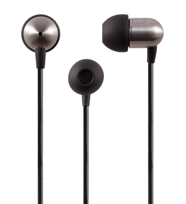 Nocs Black NS400 Titanium iOS Earphones