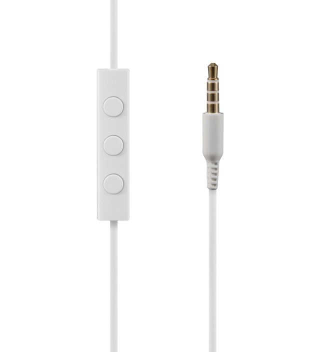 Nocs White NS400 Titanium iOS Earphones