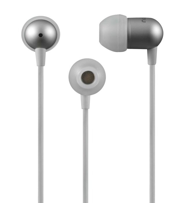 Nocs White NS200 Aluminum iOS Earphones