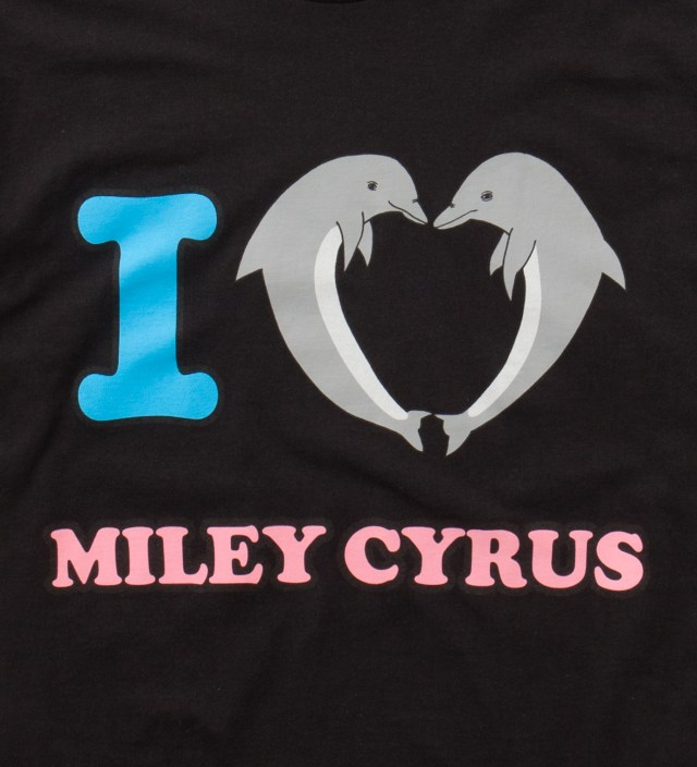 Odd Future Black Jasper Dolphin Heart Miley T-Shirt
