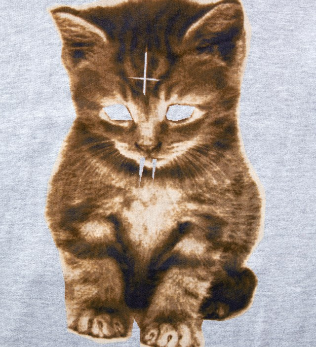 Odd Future Grey Kitty Zip Up