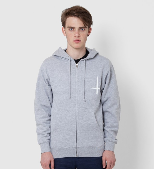 Odd Future Grey Kitty Zip Up