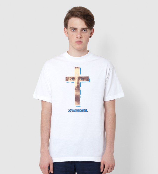 Odd Future White Cross T-Shirt