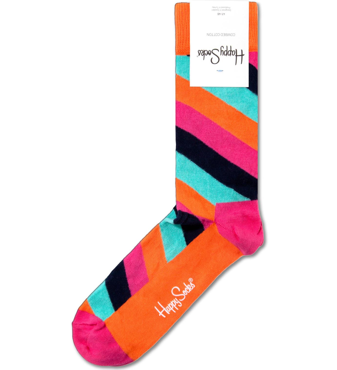 Happy Socks Polka Stripe 03 Socks | HBX.