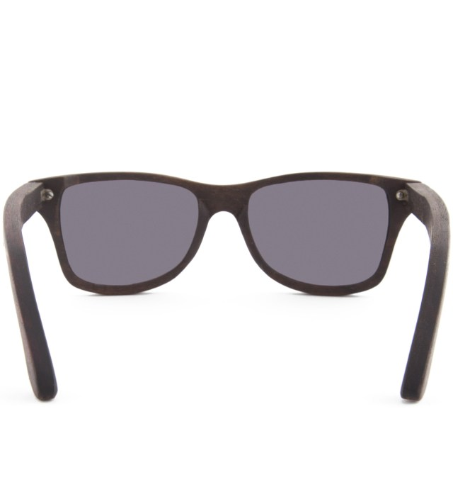 Shwood Canby East Indian Rosewood Grey Lens Sunglasses