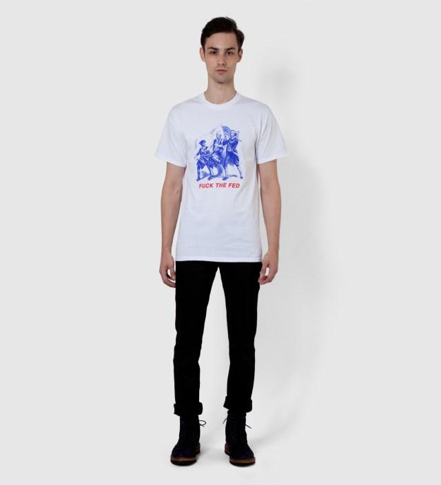 FUCT White Fuck Fed T-Shirt