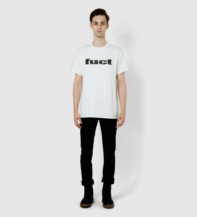FUCT White O.G Logo T-Shirt