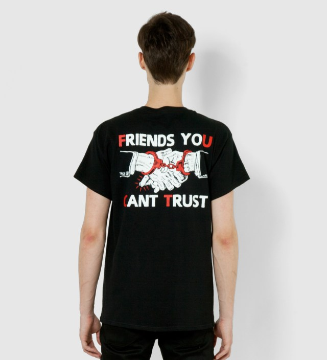 FUCT Black Friends Trust T-Shirt