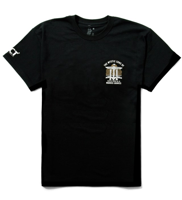 FUCT Black Mystic Sons Crest II T-Shirt
