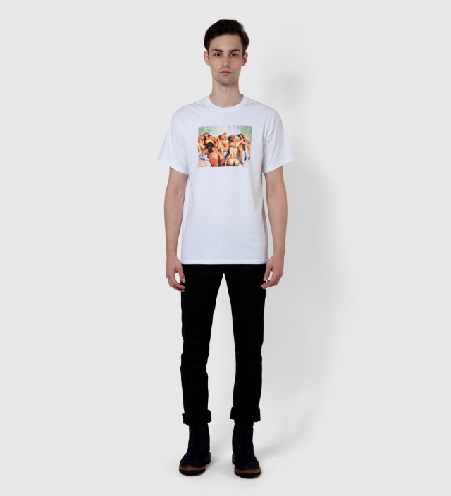 FUCT White Pix Orgy T-Shirt